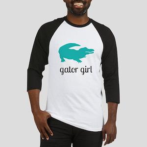 Gator Girl Baseball Jersey