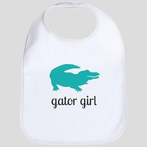 Gator Girl Bib