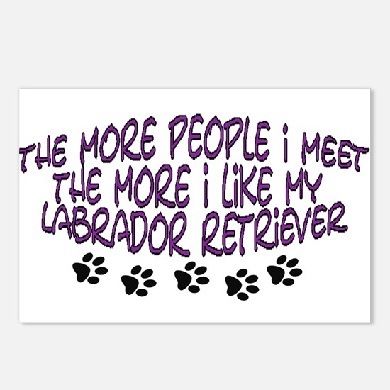 I like my Labrador Retriever Postcards (Package of