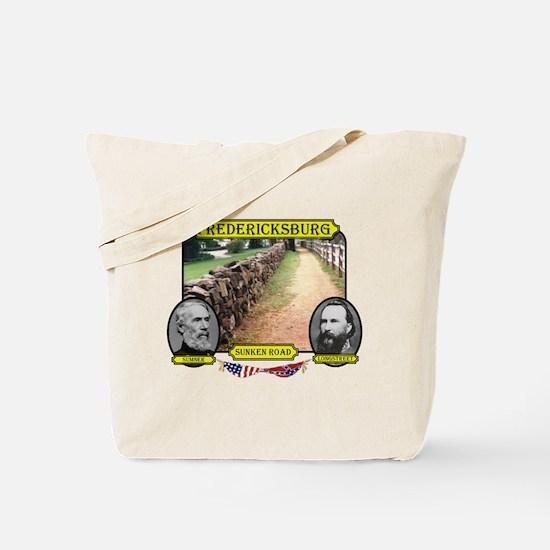 Fredericksburg-Sunken Road Tote Bag