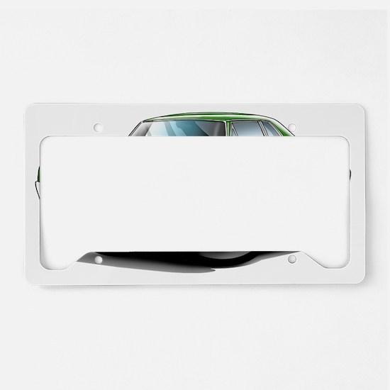 1966 Olds Cutlass Green Car License Plate Holder