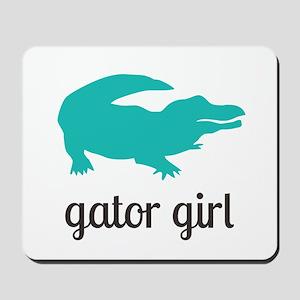 Gator Girl Mousepad