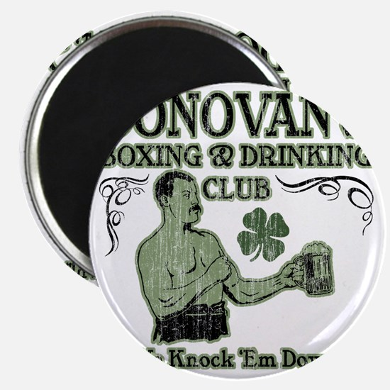 donovans club Magnet