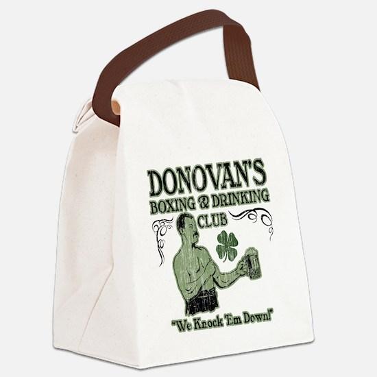 donovans club Canvas Lunch Bag