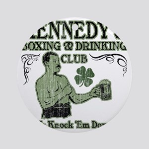kennedys club Round Ornament