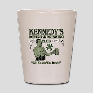 kennedys club Shot Glass