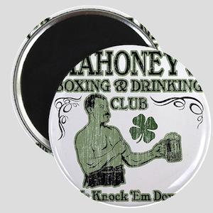 mahoneys club Magnet