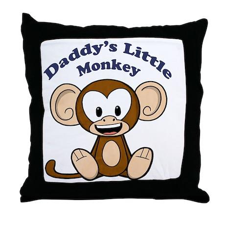 littlemonkey Throw Pillow