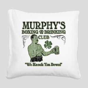 murphys club Square Canvas Pillow