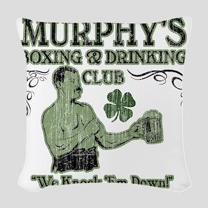 murphys club Woven Throw Pillow