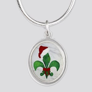 Art Silver Oval Necklace Necklaces