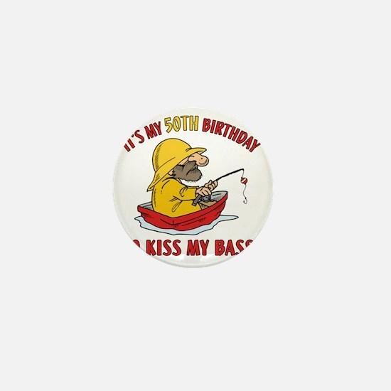 kissmybass50 Mini Button