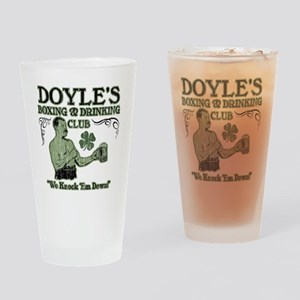 doyles club Drinking Glass