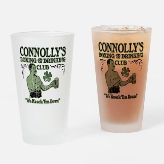 connollys club Drinking Glass