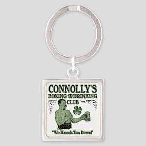 connollys club Square Keychain