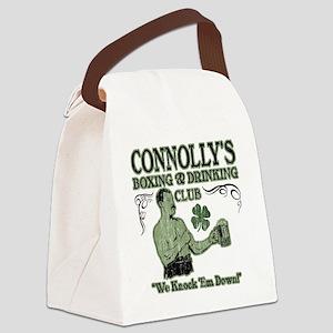 connollys club Canvas Lunch Bag