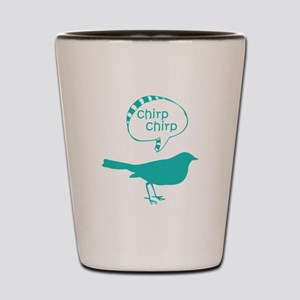 Chirp Chirp Birdie Shot Glass