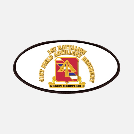 DUI - 1st Bn, 41st Field Artillery Regiment With T