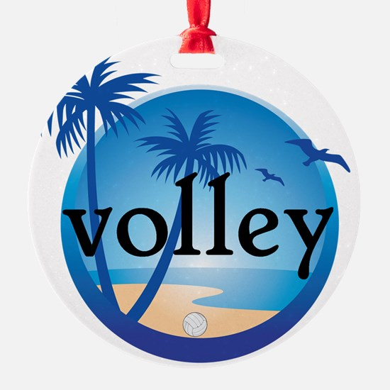 BEACH VOLLEY Ornament