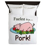 Fueled By Pork Queen Duvet