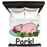 Fueled by Pork King Duvet
