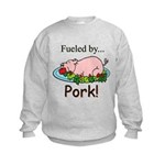 Fueled by Pork Kids Sweatshirt