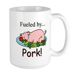 Fueled by Pork Large Mug
