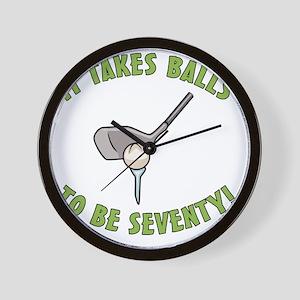 balls70 Wall Clock