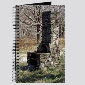 Chimney in Woods Journal