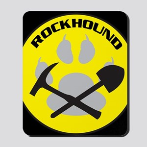 bkNEWrockhound-sticker Mousepad