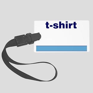 Generic-T-Shirt Large Luggage Tag