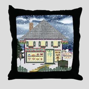 Bakery Shoppe Throw Pillow
