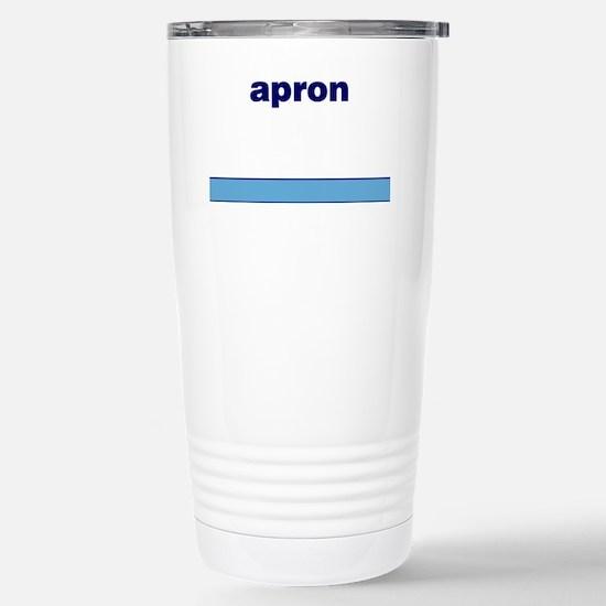 Generic-Apron Stainless Steel Travel Mug
