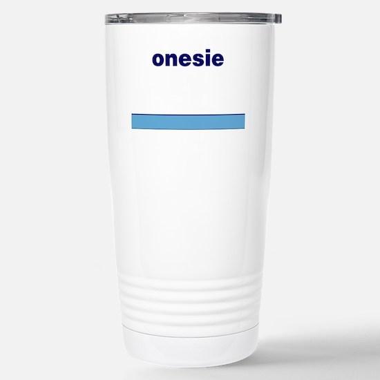 Generic-Onesie Stainless Steel Travel Mug