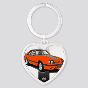 85silverbar Heart Keychain