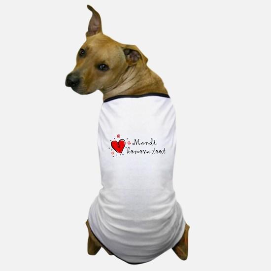 """""""I Love You"""" [Gypsy/Romany] Dog T-Shirt"""