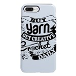 Crochet Mantra iPhone 7 Plus Tough Case