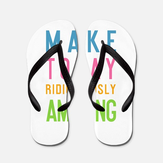 Funny Motivational Flip Flops