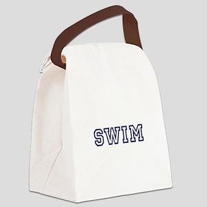 Swim Athletic Canvas Lunch Bag