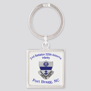 2nd 325th abn inf Square Keychain