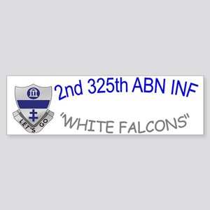 2nd 325th abn inf cap2 Sticker (Bumper)