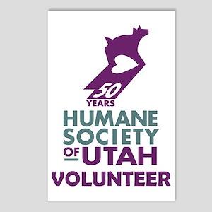 2-VolunteerLogoTrans Postcards (Package of 8)