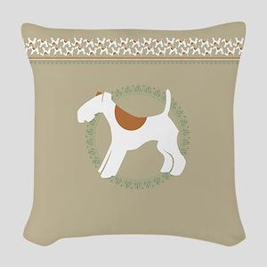 FOXaddict home Woven Throw Pillow