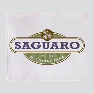 Saguaro National Park Throw Blanket