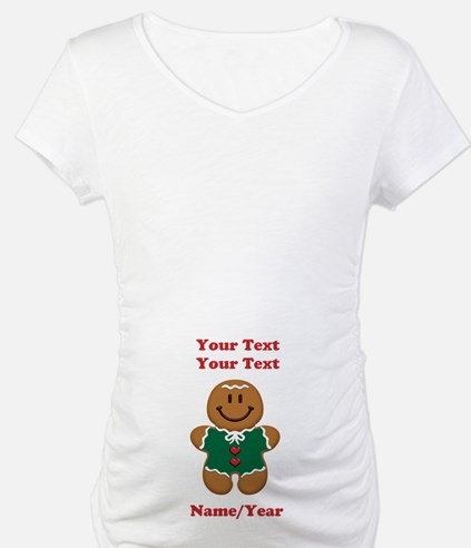 Personalize Gingerbread Baby [elf] Shirt