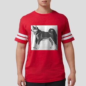 Akita dog Mens Football Shirt