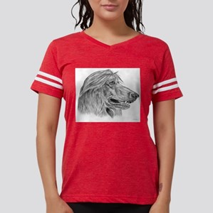 afghan hound Womens Football Shirt