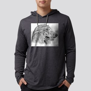 afghan hound Mens Hooded Shirt