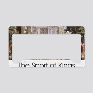 Sports of Kings License Plate Holder