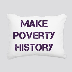 povertySQ Rectangular Canvas Pillow